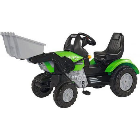 Big Tractor John Xl Cu Pedale Si Incarcator