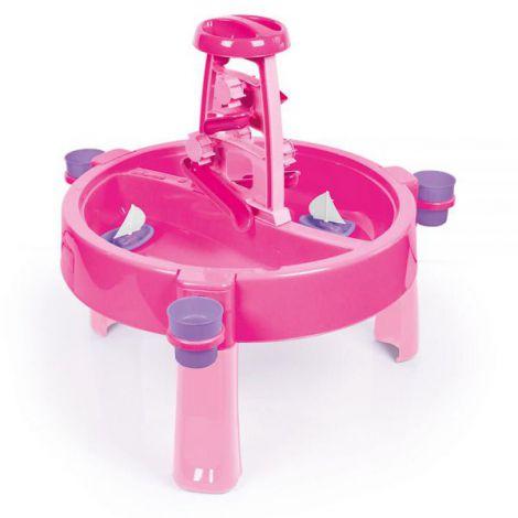 Masuta de activitati pentru apa si nisip - roz