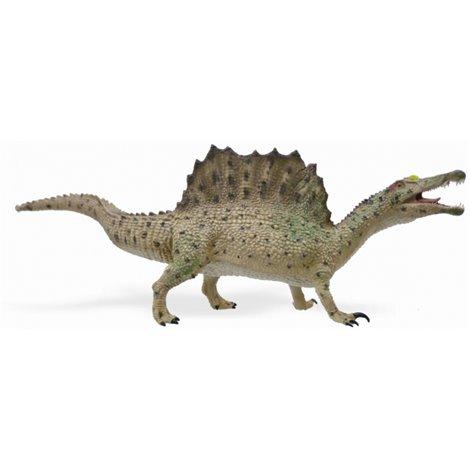 Figurina dinozaur Spinosaurus mergand pictata manual XL Collecta