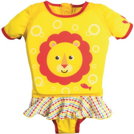 Costum de Inot cu Vesta si Fustita Fisher Price S/M