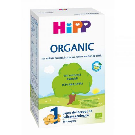 Lapte HiPP 1 Organic Lapte de inceput 300g