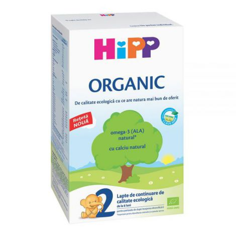 Lapte HiPP 2 Organic Lapte de continuare 300g