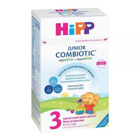 Lapte Hipp 3 Combiotic Junior Lapte De Crestere 500g imagine