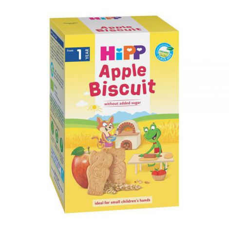 Biscuiti HiPP cu mar 150g