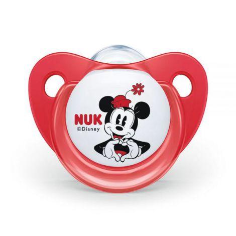 Suzeta Nuk Mickey Silicon M2 Rosu 6-18 luni