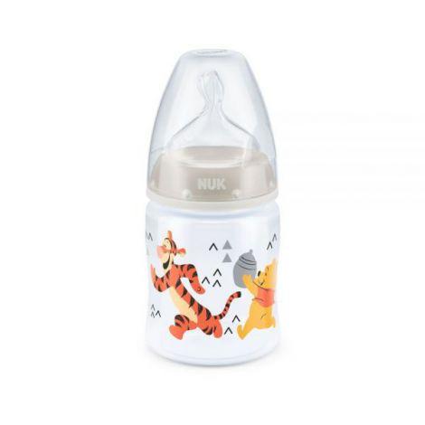 Biberon Nuk First Choice 150 ml Tetina Silicon Disney Gri 0-6 luni