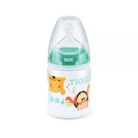 Biberon Nuk First Choice 150 ml Tetina Silicon Disney Vernil 0-6 luni