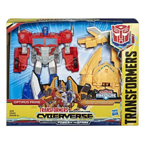 Transformers Cyberverse Power Robot Optimus Prime