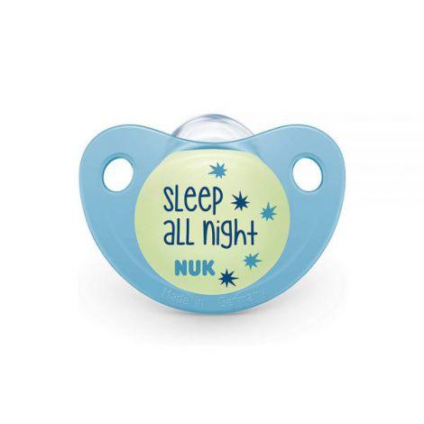 Suzeta Nuk Night & Day Silicon M2 Bleu 6-18 luni