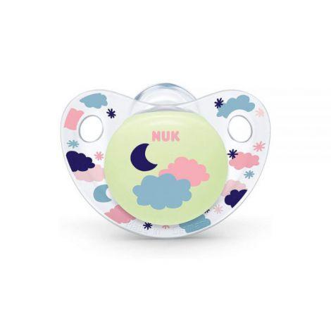 Suzeta Nuk Night & Day Silicon M3 Luna 18-36 Luni imagine