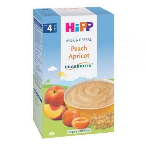 Lapte & Cereale Hipp cu piersici si caise 250 gr