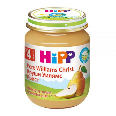 Piure Hipp Pere Williams 125 Gr imagine