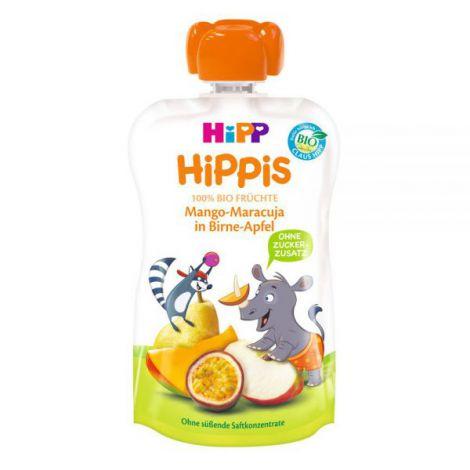 Piure HiPP Hippis para, mar, mango, fructul pasiunii 100 g