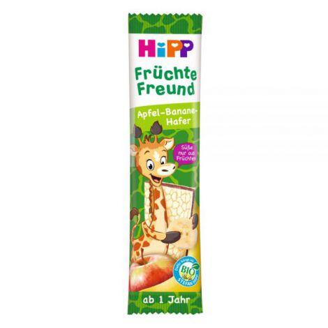 Gustare din cereale si fructe HiPP - mar, banana si ovaz 23 g