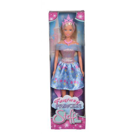 Papusa Steffi Fantasy Princess Cu Rochita Bleu imagine