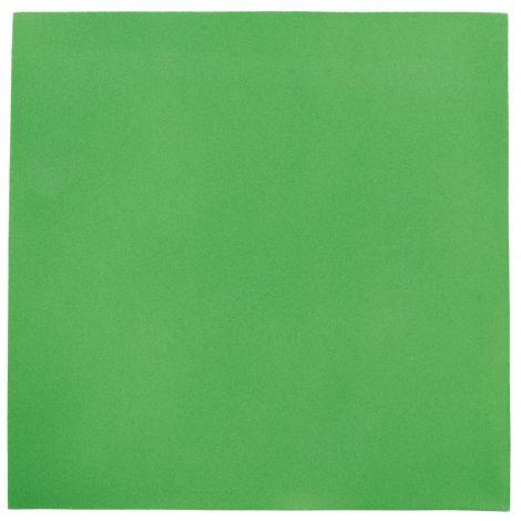 Panou patrat verde moss 20 mm pentru reducerea zgomotului in clasa