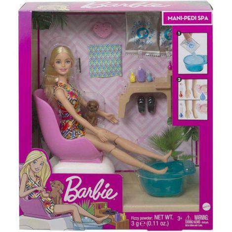 Barbie Set Cu Papusa La Salonul De Manichiura