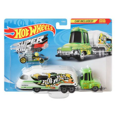 Set Camion Si Masina Sport Hot Wheels Tooned Up