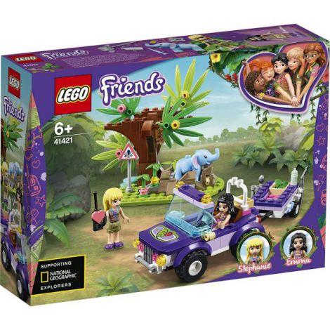 Lego Friends Salvarea Puiului De Elefant Din Jungla 41421
