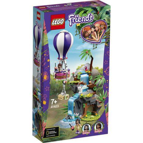 Lego Friends Salvarea Tigrului Din Jungla Cu Balonul De Aer Cald 41423 imagine