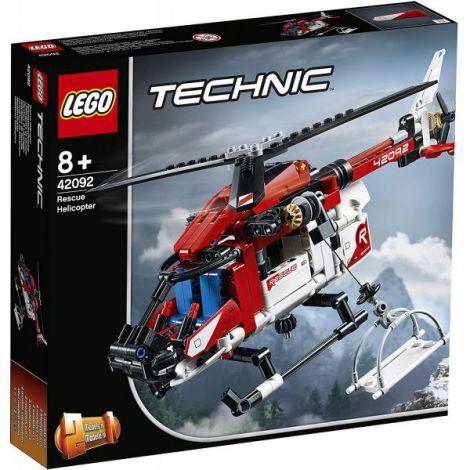 Lego Technic Elicopter De Salvare 42092 imagine