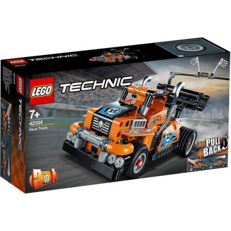 Lego Technic Camion De Curse 42104 imagine
