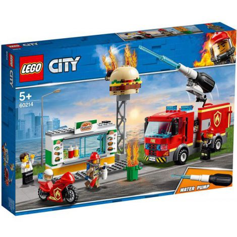 Lego City Stingerea Incendiul De La Burger Bar 60214