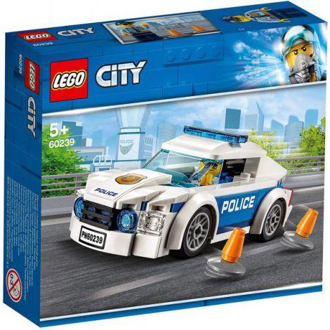 Lego City Masina De Politie Pentru Patrulare 60239