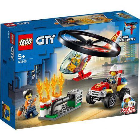 Lego City Interventie Cu Elicopterul De Pompieri 60248