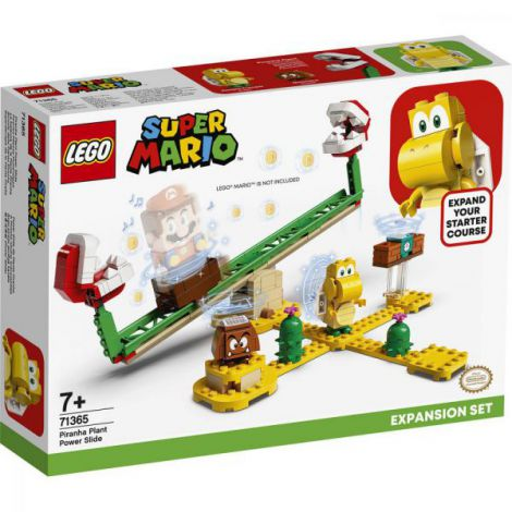 Lego Super Mario Set De Extindere Toboganul Plantei Piranha 71365