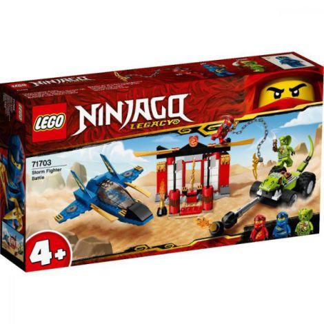Lego Ninjago Intrecere Cu Avionul De Lupta 71703 imagine