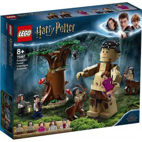 Lego Harry Potter Padurea Interzisa Intalnirea Dintre Grawp Si Umbridge 75967