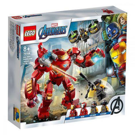 Lego Super Heroes Iron Man Hulkbuster Contra Aim. Agent 76164