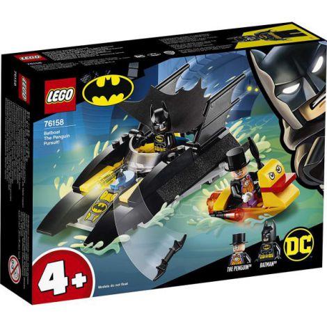 Lego Super Heroes UrmĂrirea Pinguinului Cu Batboat 76158