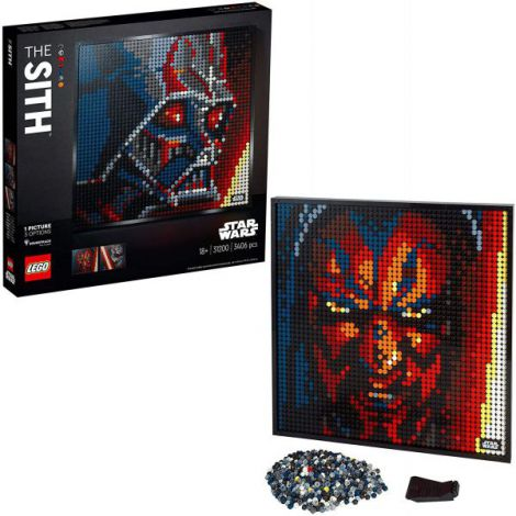 Lego Art 2020 Star Wars Sith 31200 imagine