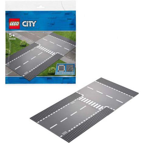 Lego City IntersecȚie DreaptĂ Și În T 60236