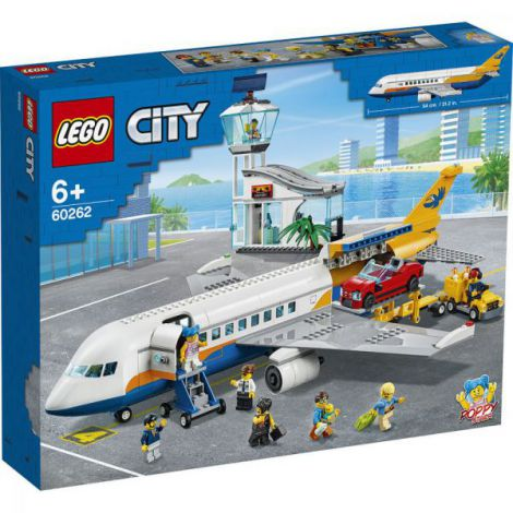 Lego City Avion De Pasageri 60262