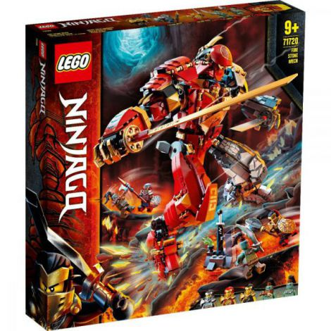 Lego Ninjago Robot Piatra De Foc 71720