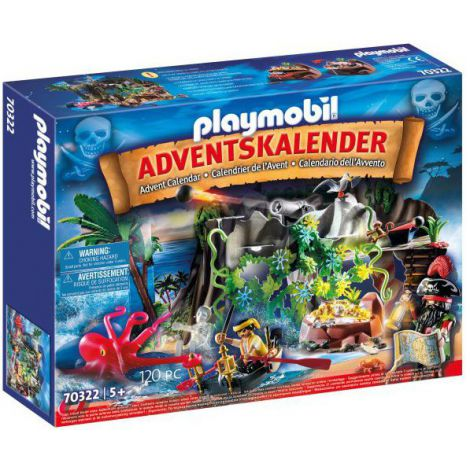 Calendar Craciun Pirati Playmobil 70322 imagine