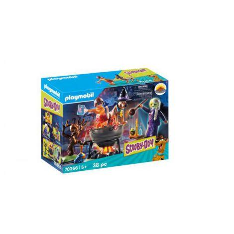 Aventuri cu vrajitoare PM70366 Playmobil Scooby Doo