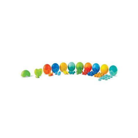 Set Pentru Sortat Si Numarat - Dinozauri Colorati imagine