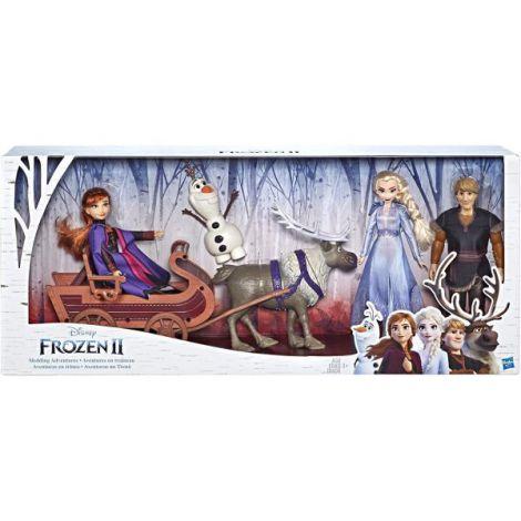 Set Frozen2 Cu Sanie Si Papusi imagine