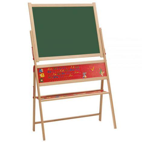 Tablita din lemn Eichhorn Magnetic Board cu 59 accesorii