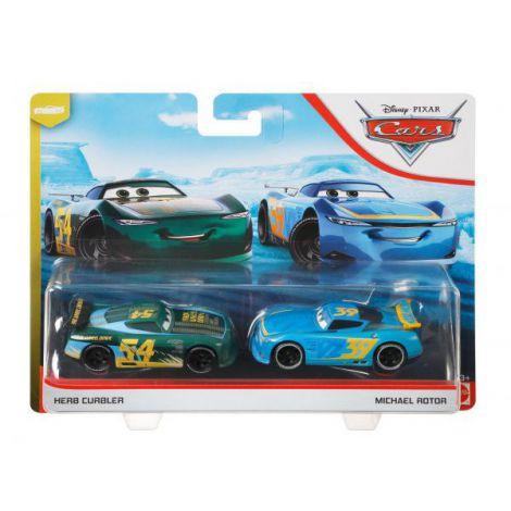 Cars3 Set 2 Masinute Metalice Herb Curbler Si Michael Rotor
