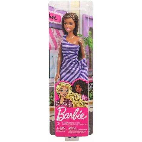 Papusi Barbie Tinute Stralucitoare Satena Cu Rochita Mov