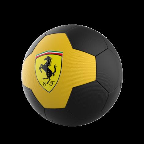 Mingie De Fotbal Ferrari, Marimea 5, Galben / Negru imagine