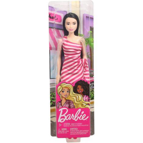 Papusa Barbie Tinute Stralucitoare Blonda Cu Rochita Roz