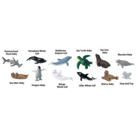 Figurine Pui animale marine
