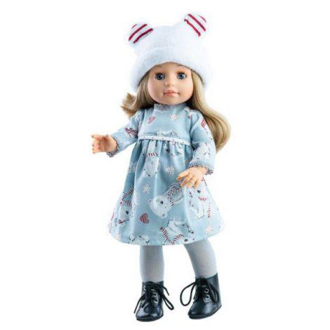 Papusa Emma in rochita cu ursuleti, Soy Tu - Paola Reina
