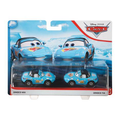 Cars 3 Set 2 Masinute Metalice Dinoco Mia Si Dinoco Tia